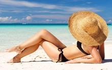 Я на солнышке лежу — на английском пляже