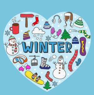 Сочинение Winter на английском с переводом