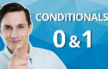 Условные предложения: Zero Conditional и First Conditional