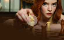 Английский по сериалу Queen's Gambit (видео)
