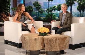 Ellen Show. София Вергара
